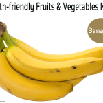 Teeth-friendly Fruits & Vegetables No. 4: Bananas
