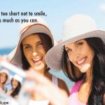 smiling beach girls