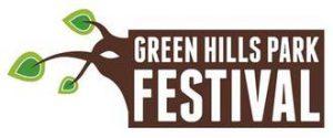 Green Hills Park Festival logo.